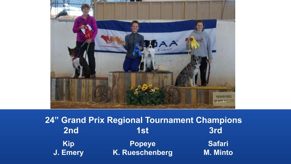The Wild West Regional 2019 March 8-10 Queen Creek, Arizona Grand Prix & Performance Grand Prix Regional Tournament Champions (1)