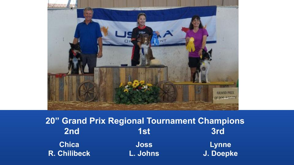 The Wild West Regional 2019 March 8-10 Queen Creek, Arizona Grand Prix & Performance Grand Prix Regional Tournament Champions (3)