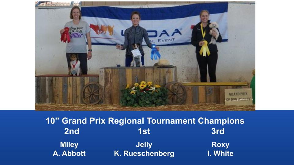 The Wild West Regional 2019 March 8-10 Queen Creek, Arizona Grand Prix & Performance Grand Prix Regional Tournament Champions (6)