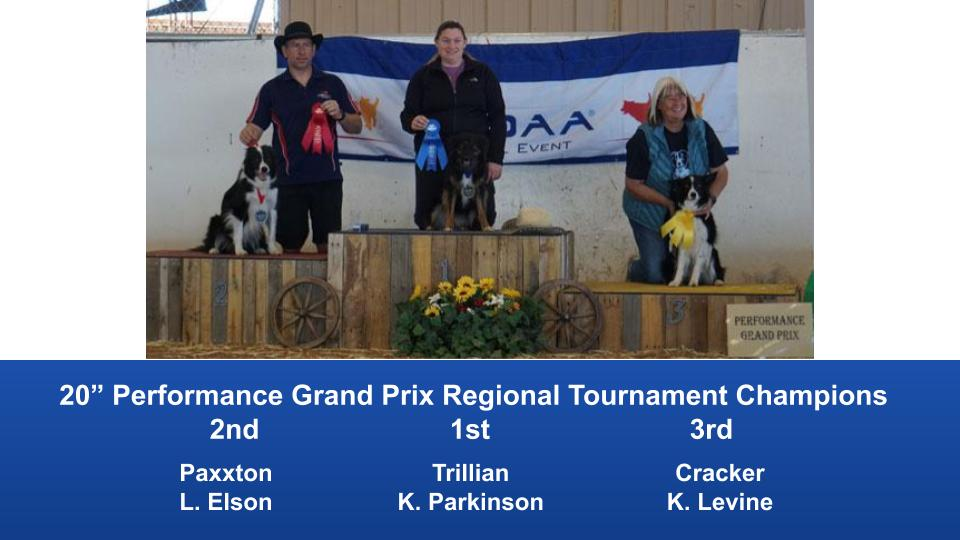 The Wild West Regional 2019 March 8-10 Queen Creek, Arizona Grand Prix & Performance Grand Prix Regional Tournament Champions (7)