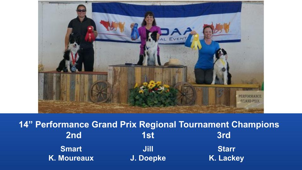 The Wild West Regional 2019 March 8-10 Queen Creek, Arizona Grand Prix & Performance Grand Prix Regional Tournament Champions (9)
