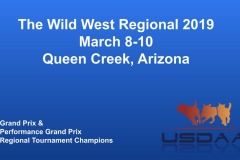 The Wild West Regional 2019 March 8-10 Queen Creek, Arizona Grand Prix & Performance Grand Prix Regional Tournament Champions