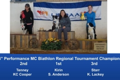The Wild West Regional 2019 March 8-10 Queen Creek, Arizona MCBiathlon and Performance MCBiathlon Champions (9)