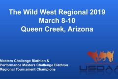 The Wild West Regional 2019 March 8-10 Queen Creek, Arizona MCBiathlon and Performance MCBiathlon Champions