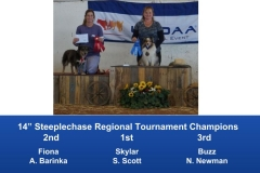 The Wild West Regional 2019 March 8-10 Queen Creek, Arizona Steeplechase & Performance Speed Jumping Tournament Champions (6)